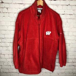 Men's Columbia Wisconsin Fleece Jacket